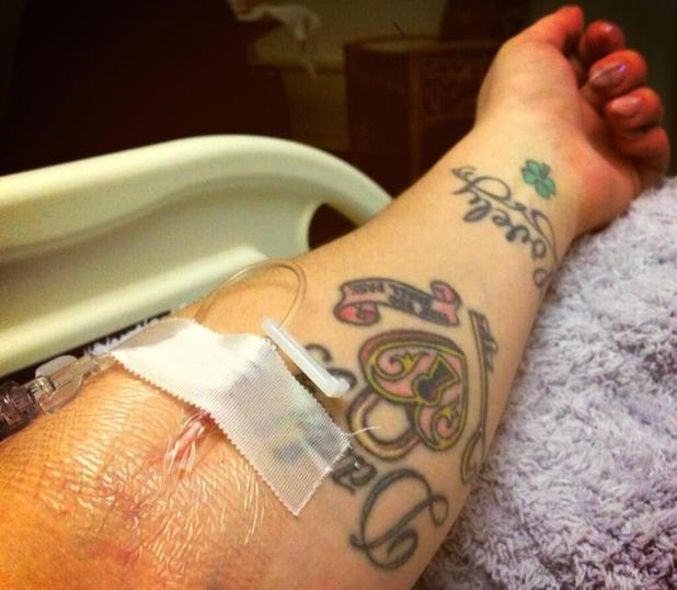 Kelly Osbourne in hospital after suffering seizure - 8 March 2013