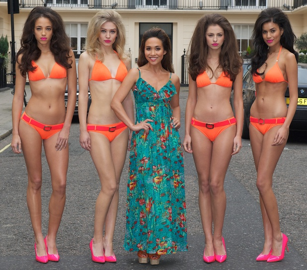 Myleene Klass launches her Littlewoods swimwear range