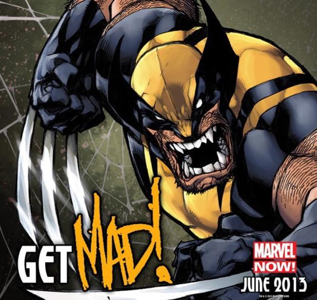 Joe Madureira's 'Wolverine' teaser