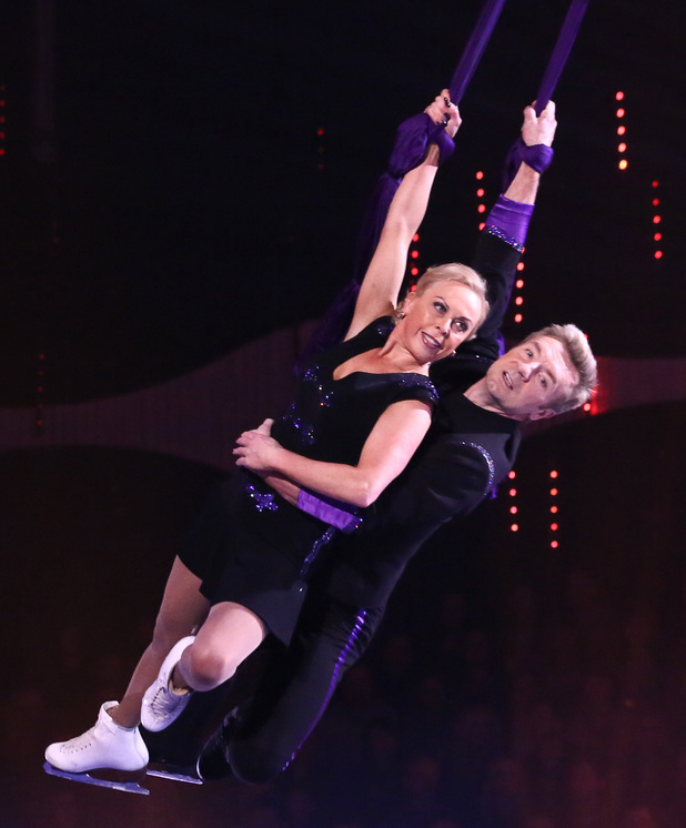 Jayne Torvill and Christopher Dean perform their Bolero.