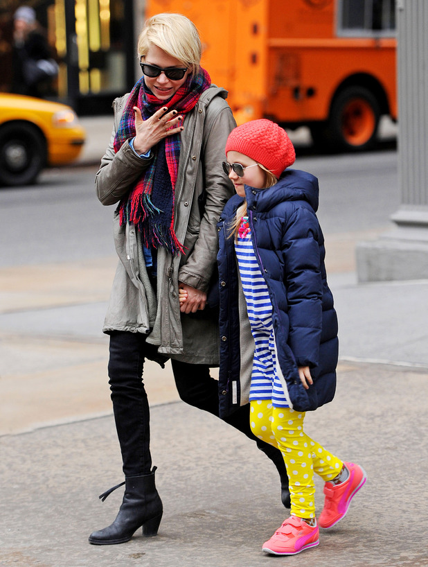 Michelle Williams and Matilda Rose