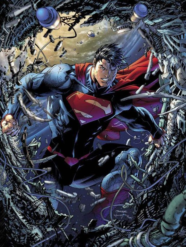 'Superman Unchained' artwork