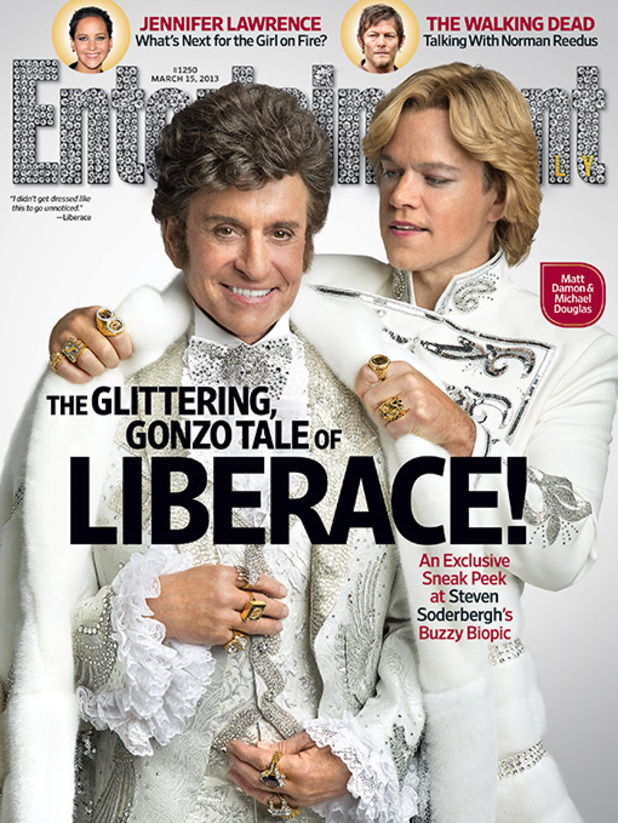 Matt Damon and Michael Douglas in 'Behind the Candelabra'