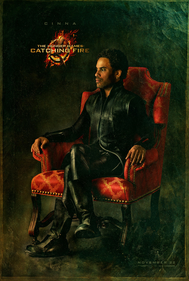 'Hunger Games: Catching Fire' Capitol portrait: Lenny Kravitz as Cinna