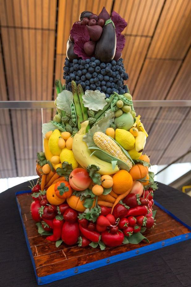 Fruit and Vegetable Cake
