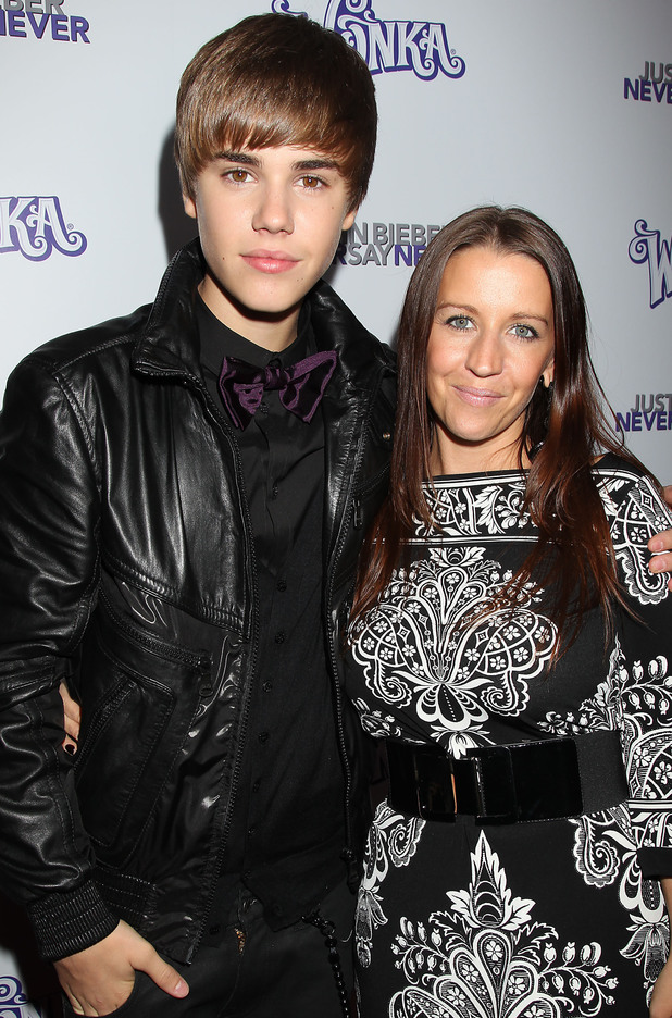 Justin Bieber, Pattie Mallette, Justin Bieber Never Say Never, Film Screening, New York