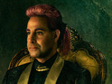Caesar Flickerman actor Stanley Tucci appears in a promo image for the sequel.