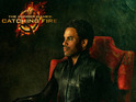 Lenny Kravitz poses for the latest promo image from Catching Fire.