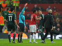 Police were called by an angry fan during United's defeat to Real Madrid.