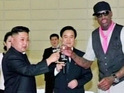 Dennis Rodman meets North Korean leader Kim Jong-Un