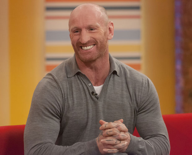 Gareth Thomas on 'Daybreak' TV Programme, London, Britain - 06 Mar 2013