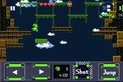 The creator of 'Cave Story' announces 'Gero Blaster' as his next iOS action game.