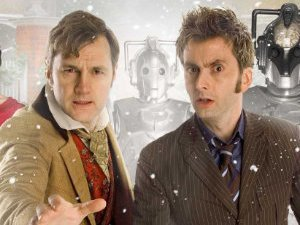 David Morrissey and David Tennant in &#39;The Next Doctor&#39;