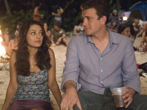 Mila Kunis alongside Jason Segel in 'Forgetting Sarah Marshall'