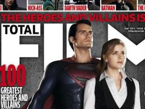 'Man of Steel': Superman and Lois Lane, Total Film cover
