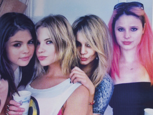 Faith, Cotty, Candy and Brit in 'Spring Breakers'