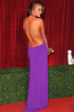 Brooke Vincent, fake tan, British Soap Awards, London