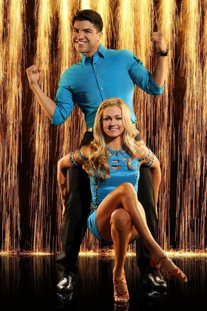 Dancing with the Stars: season 16 - Victor Ortiz and Lindsay Arnold