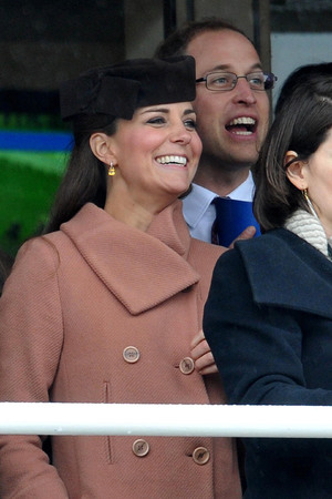 Duchess of Cambridge, Prince William, Kate Middleton, Cheltenham races