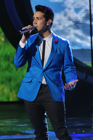 'American Idol' Top 10 performances - Lazaro Arbos