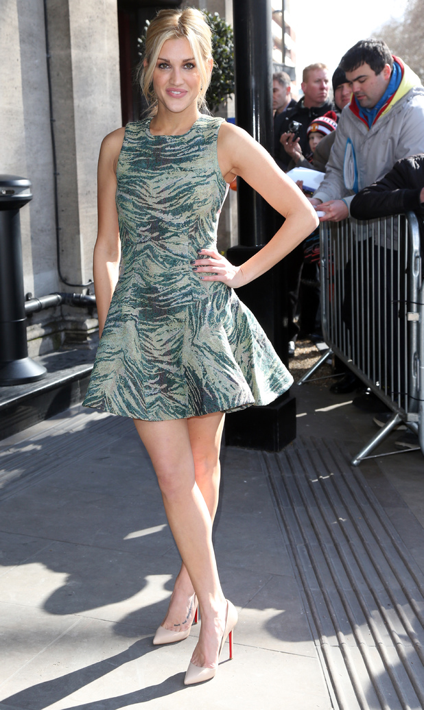 Ashley Roberts, TRIC Awards 2013