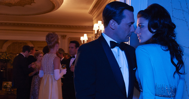 Mad Men Season 6: Don Draper (Jon Hamm) and Megan Draper (Jessica Pare)