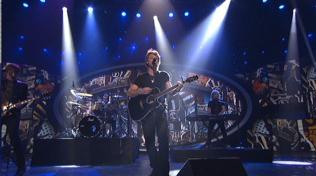 'American Idol' Top 10 results show: Bon Jovi perform