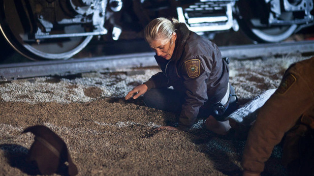 Katee Sackhoff as Victoria 'Vic' Moretti in 'Longmire'