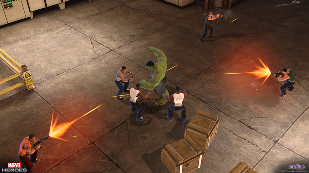 'Marvel Heroes: Immersion Day' screenshot