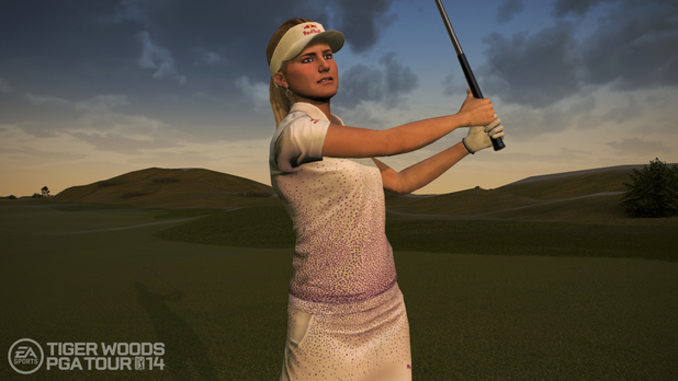 Tiger Woods PGA Tour 14 Lexi Thompson