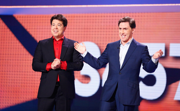 Michael McIntyre and Rob Brydon