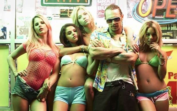 The cast of 'Spring Breakers'
