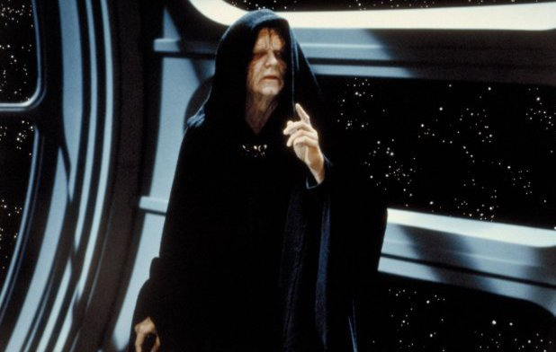 Ian McDiarmid as Emperor Palpatine in Star Wars: Episode VI - Return of the Jedi