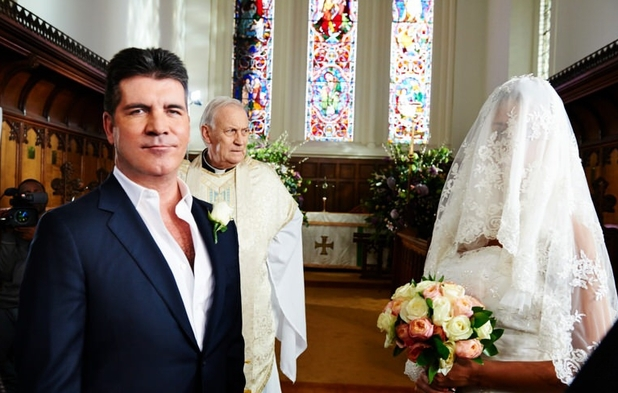 Simon Cowell Wedding Comic Relief