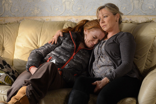 Carol comforts Bianca