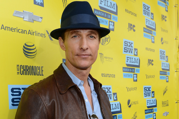 Matthew McConaughey attends the screening of his new film 'Mud' at the SXSW conference in Austin, Texas