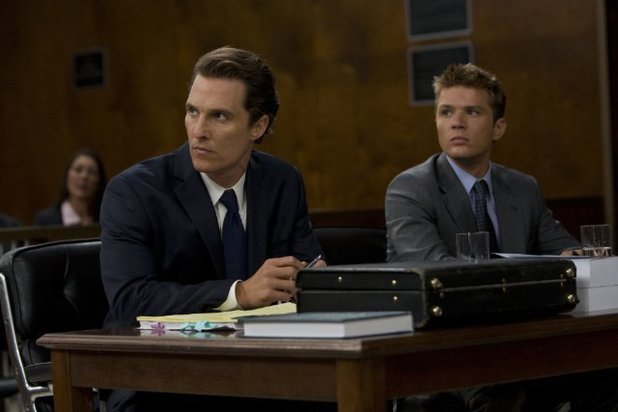 Matthew McConaughey in 'The Lincoln Lawyer' (2011)