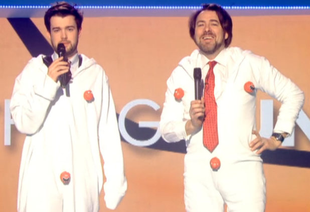 Jack Whitehall and Jonathan Ross