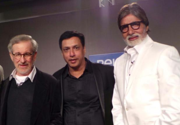 Steven Spielberg, Madhur Bhandarkar and Amitabh Bachchan