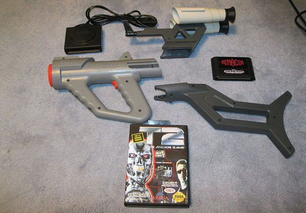 The Sega Mega Drive Menacer light-gun