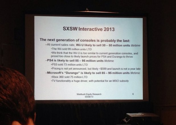 SWSX Michael Pachter next generation predictions