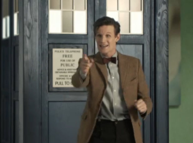 Matt Smith makes a special appearance during Comic Relief