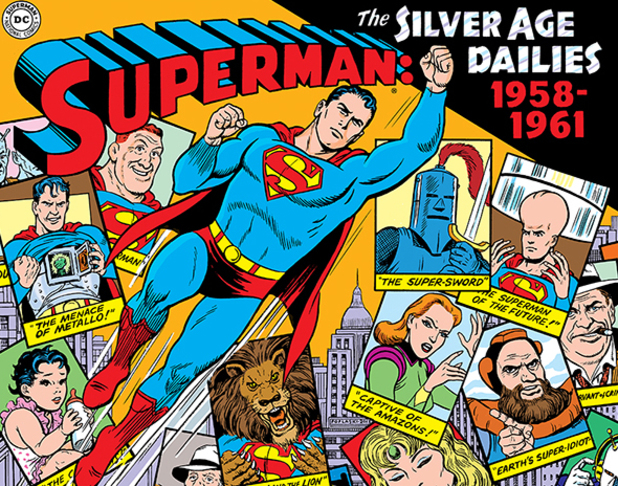 Superman: The Silver Age Newspaper Dailies artwork