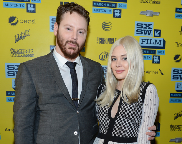 Founder of Napster Sean Parker and fiance Alexandra Lenas attend the World Premiere of 'Downloaded' at the SXSW conference in Austin, Texas