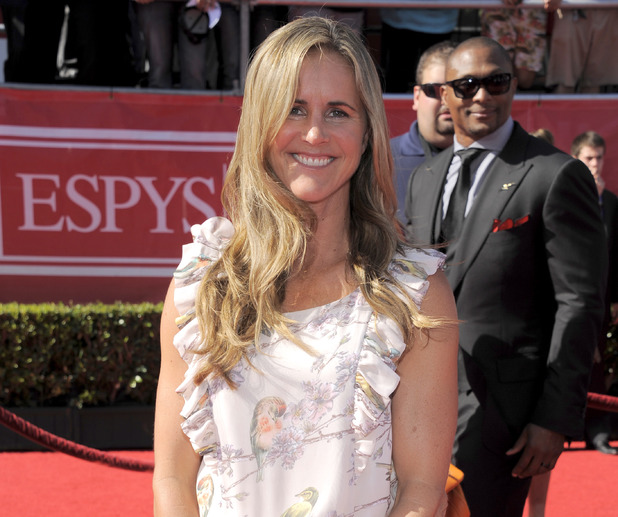 Brandi Chastain at the 2012 ESPY Awards