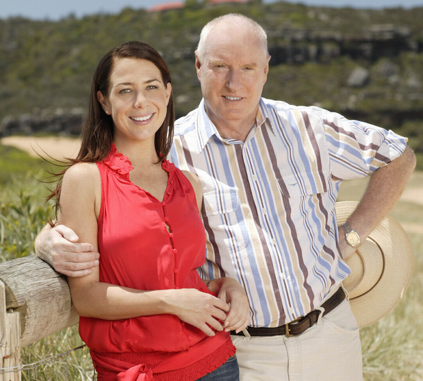 Home and Away stars Kate Ritchie and Ray Meagher