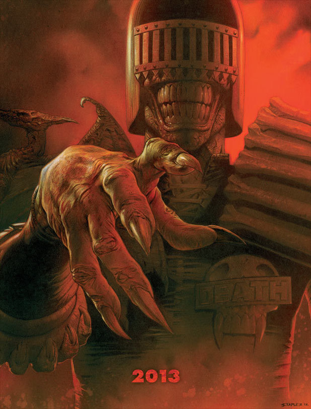 Judge Death return teaser in '2000 AD'
