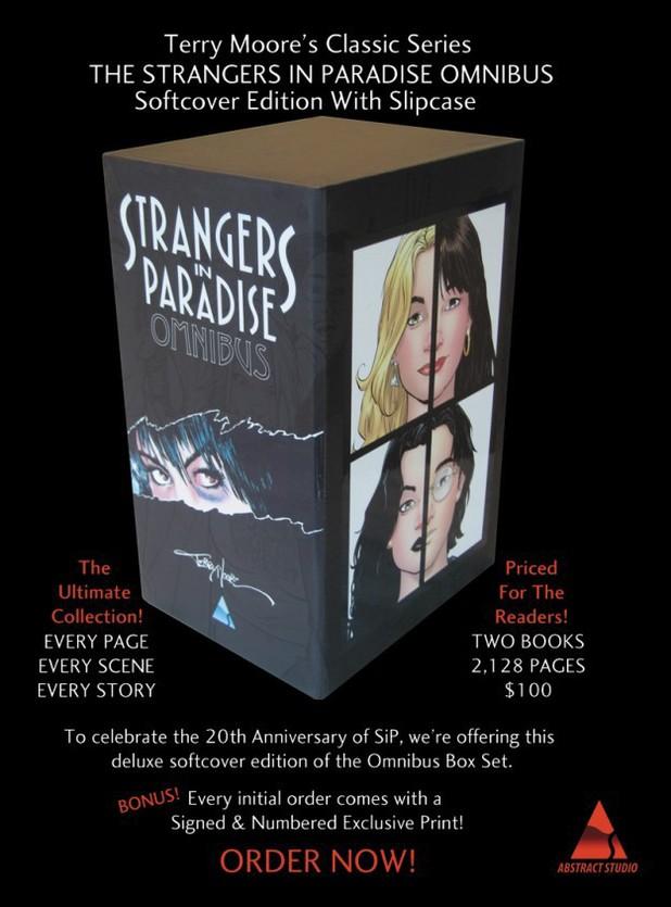'Strangers in Paradise' paperback omnibus