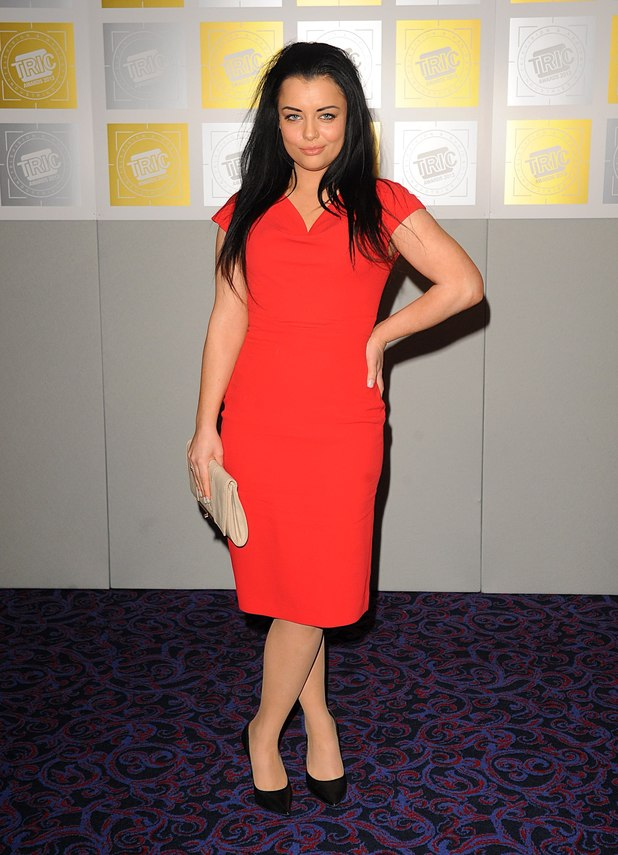 Shona McGarty, TRIC Awards 2013
