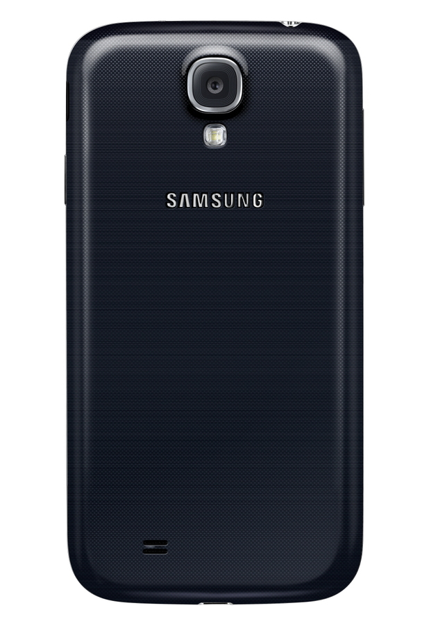 Samsung Galaxy S4 back view (camera)